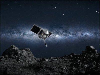 La NASA dice que la sonda Osiris-Rex entró en contacto con el asteroide Bennu