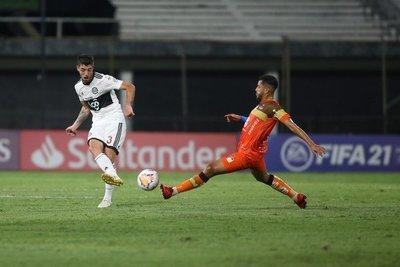 Olimpia cayó por la mínima y quedó eliminado de la Libertadores