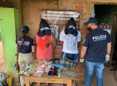 Detienen a presuntos microtraficantes en Guairá
