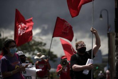 Un juez rechaza las medidas cautelares contra el líder de protestas en Costa Rica