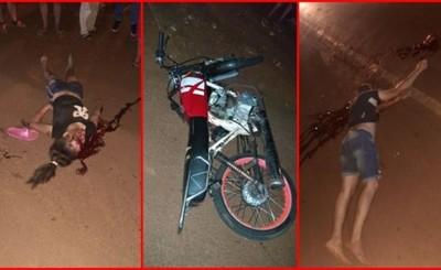 Joven motociclista muere tras ser embestido por un automóvil