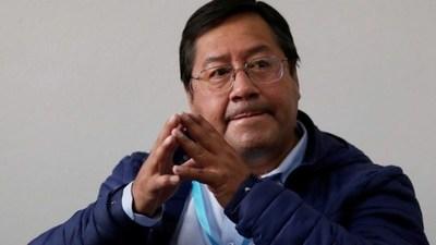 Luis Arce, virtual ganador de las elecciones en Bolivia