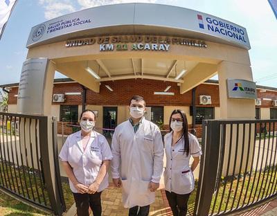 Salud habilita nuevas USF en Alto Paraná