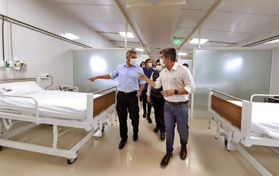 Suman 48 camas de internación en nuevo pabellón de contingencia de CDE