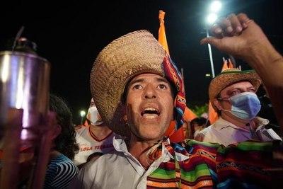 Protestas en Santa Cruz por la victoria del MAS en las elecciones de Bolivia