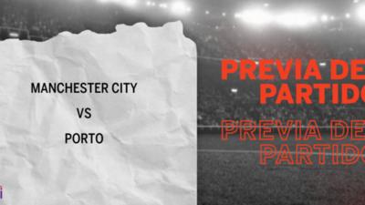 Por la Grupo C – Fecha 1 se enfrentarán Manchester City y Porto