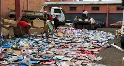 Destruyen juguetes falsificados que pudieron haber sido donados