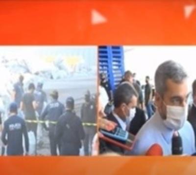 Mario Abdo destaca lucha contra el crimen organizado de su gobierno