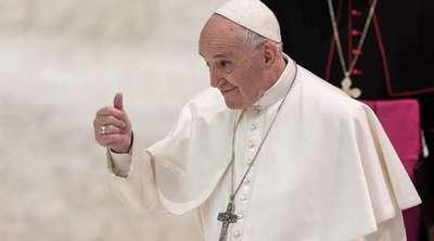 El Papa alienta unión civil para parejas homosexuales