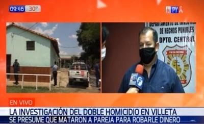 Sospechan que doble asesinato en Villeta fue con fines de robo