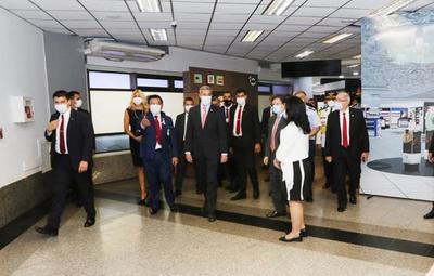 Con estricto protocolo, reinician vuelos comerciales en Aeropuerto Silvio Pettirossi