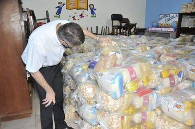Gobernación entregó 554 kits de alimentos en instituciones educativas de Amambay