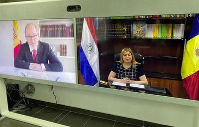 Firma de convenio de cooperación entre Fiscalía de Paraguay y Andorra