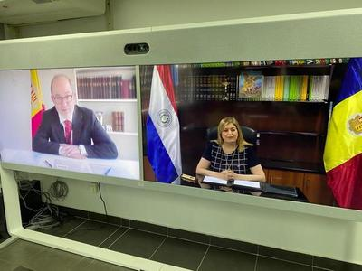 Paraguay firma protocolo de cooperación con Fiscalía de Andorra