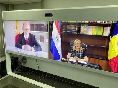 Fiscalía de Paraguay firmó de protocolo de cooperación con Fiscalía General del Principado de Andorra