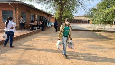 Gobernación entrega merienda escolar