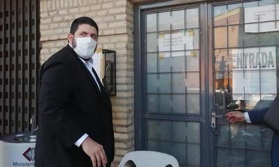 Gabriel González llegó hasta la fiscalía – Prensa 5