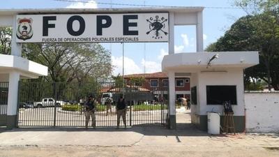HOY / Trasladan carga de cocaína incautada en Villeta hasta la FOPE
