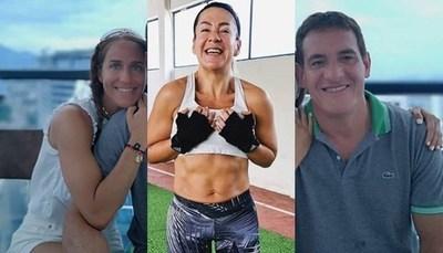 """Novia del Colorado Gamarra dispara: """"Por algo sos ex"""", """"borráte"""""""