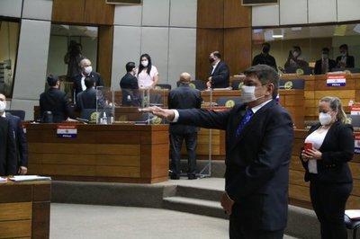 Augusto Wagner juró en reemplazo de Celeste Amarilla