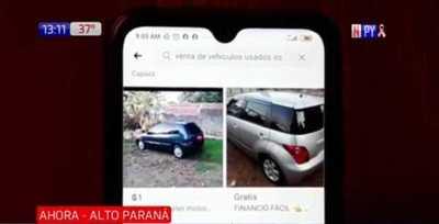 Alto Paraná: Quiso comprar un auto y fue asaltada