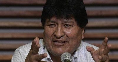 """La Nación / """"Todavía no está programado mi retorno a Bolivia"""", dice Evo Morales"""