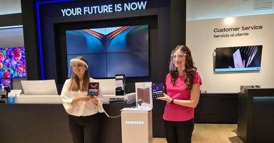 La Nación / Samsung Paraguay presentó el Galaxy Z Fold2