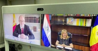 La Nación / Fiscalías de Paraguay y Andorra firman acuerdo de cooperación