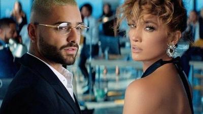 HOY / Jennifer López y Maluma usan la música para enamorar a Hollywood