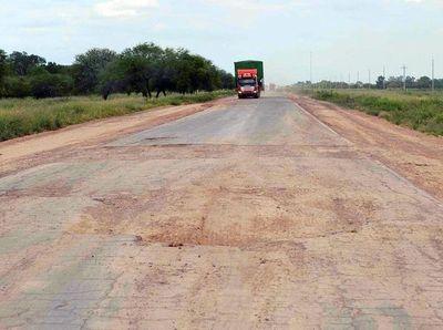 Recién ahora reciben ofertas para fiscalizar obras de la ruta Transchaco