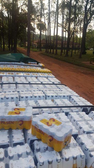 Ante temor de carencia de cerveza en lata, contrabandistas tratan de sacar provecho