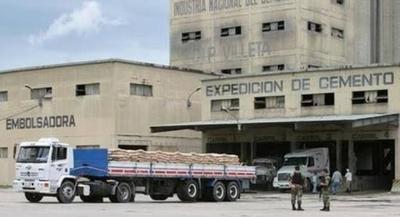 HOY / Baja producción de cemento: INC investiga posible sabotaje