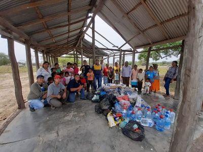 """Expedicionarios luqueños inician """"operativo navideño"""" a favor de familias nativas del Chaco"""