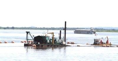La Nación / MOPC recibió cuatro ofertas para obras de dragado del río Paraguay