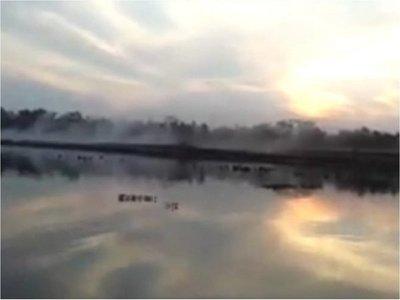 Vecinos de San Cosme denuncian daño ambiental causado por fumigaciones