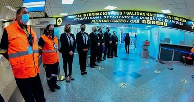La Nación / En modo covid rehabilitan el puente aéreo de Paraguay
