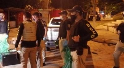 Agentes del Crimen Organizado decomisan G. 400 millones y un laboratorio de drogas en Tacumbú
