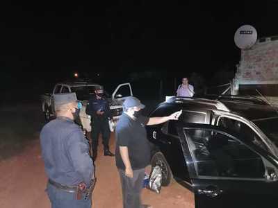 Transportaban dinero para comprar vehículo y fueron extorsionados por polibandis