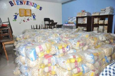 Distribuyen alimentación escolar en otras dos instituciones