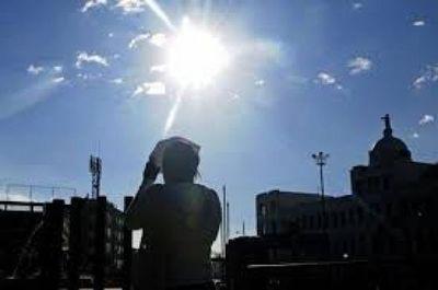 Jueves extremadamente caluroso y con posibles lluvias
