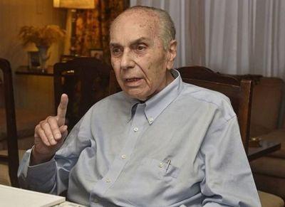 Falleció Conrado Pappalardo ex diputado por Amambay