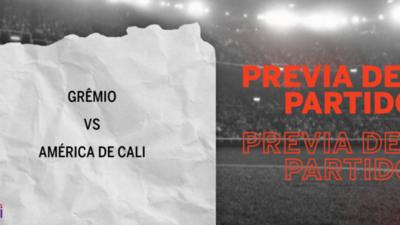 Grêmio recibirá  a América de Cali por la Grupo E – Fecha 6