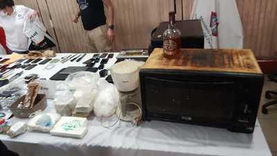 Encuentran laboratorio de cocaína en el Penal de Tacumbú