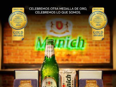 HOY / Munich, medalla de oro de Monde Selection por segunda vez