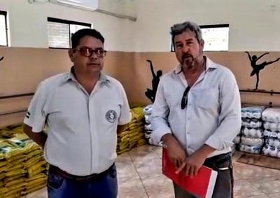 Gobernación llega al municipio de Dr. Raúl Peña con 8500 kilos de alimentos – Diario TNPRESS