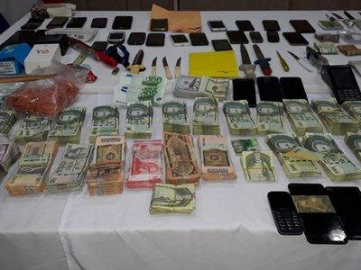 Hallan laboratorio de drogas y un platal en cárcel de Tacumbú