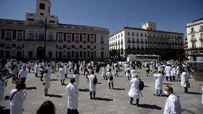 COVID-19: Fuerte rebrote y huelga de médicos en Madrid