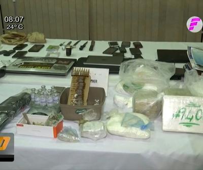 Descubren laboratorio de drogas en penal de Tacumbú
