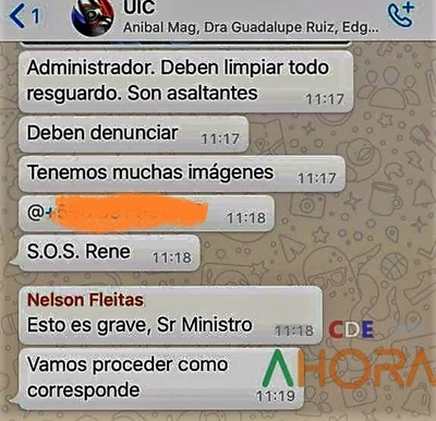 "Ministro tilda de ""ASALTANTES"" a recaudares del administrador de ADUANA de CDE"