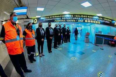 Paraguay reinicia oficialmente los vuelos comerciales en sus principales aeropuertos
